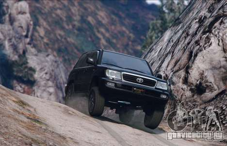 Toyota Land Cruiser 100 для GTA 5