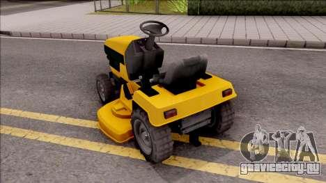 GTA V Jacksheepe Lawn Mower для GTA San Andreas вид слева