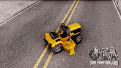 GTA V Jacksheepe Lawn Mower для GTA San Andreas вид сзади слева