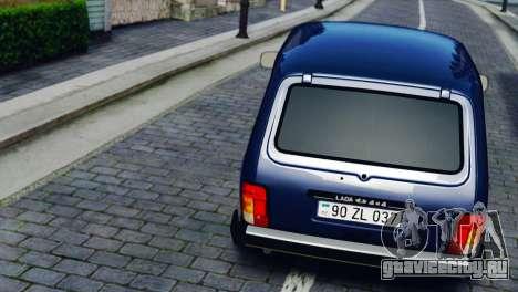 Vaz 2121 Niva для GTA 4 вид справа
