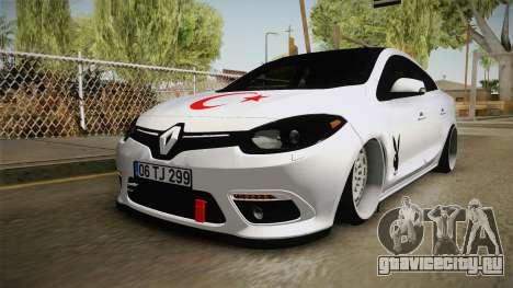 Renault Fluence PlayBoy для GTA San Andreas