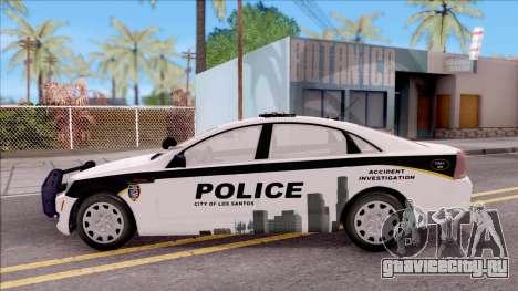Chevrolet Caprice 2013 Los Santos PD v3 для GTA San Andreas вид слева