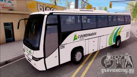 Volvo 9700 Coordinados Bus Mexico для GTA San Andreas