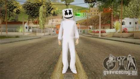 Marshmello Skin для GTA San Andreas