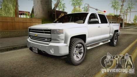 Chevrolet Cheyenne LT 2016 для GTA San Andreas