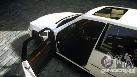 Mercedes-Benz S600 W140 для GTA 4 вид сзади слева
