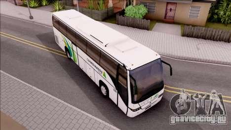 Volvo 9700 Coordinados Bus Mexico для GTA San Andreas вид справа