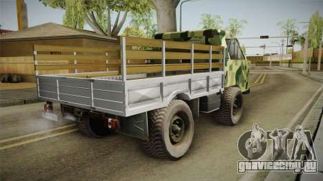 TAM 110 Vojno Vozilo для GTA San Andreas вид слева