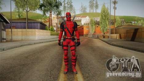 Deadpool The Movie Skin для GTA San Andreas второй скриншот