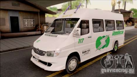 Mercedes-Benz Sprinter Renetur для GTA San Andreas
