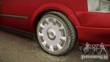 Opel Astra G для GTA San Andreas вид сзади