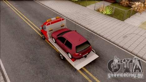 Mercedes-Benz Sprinter Abschleppwagen для GTA San Andreas вид сзади