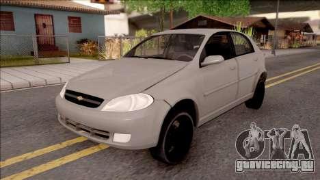 Chevrolet Aveo v2 Sin Sonido Version Sencilla для GTA San Andreas