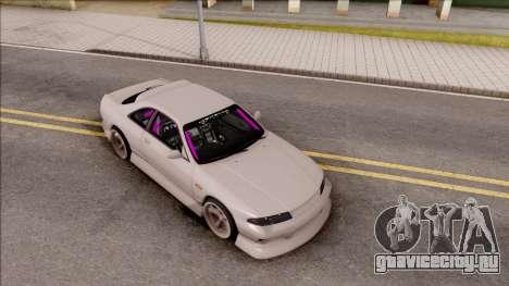 Nissan Skyline R33 Drift Monster Energy для GTA San Andreas вид справа