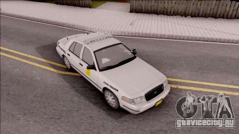 Ford Crown Victoria 2009 Iowa State Patrol для GTA San Andreas вид справа