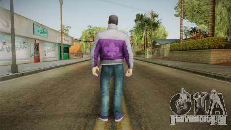 Saints Row IV - Johnny Gat для GTA San Andreas третий скриншот