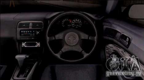 Nissan 200SX для GTA San Andreas вид изнутри