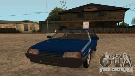 ВАЗ-2108 на радиоуправлении для GTA San Andreas вид справа