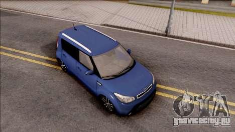 Kia Soul для GTA San Andreas вид справа