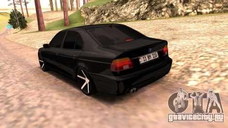 BMW E39 Armenian Vossen для GTA San Andreas вид слева