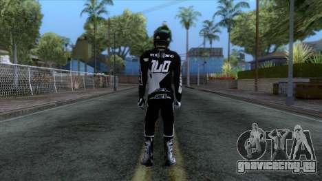 Motorcyclist Skin для GTA San Andreas третий скриншот