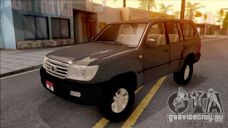 Toyota Land Cruiser 2005 для GTA San Andreas