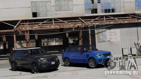 2014 Range Rover Sport SVR 5.0 V8 для GTA 5 вид слева