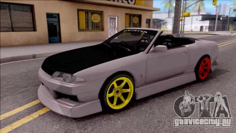 Nissan Skyline R32 Cabrio Drift Monster Energy для GTA San Andreas