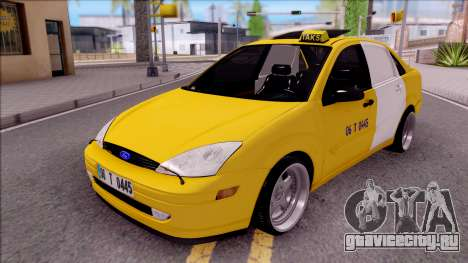 Ford Focus Mk1 Turkish Taxi для GTA San Andreas
