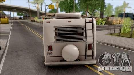 Journey Post Apocalyptic Beta для GTA San Andreas вид сзади слева