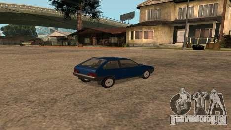 ВАЗ-2108 на радиоуправлении для GTA San Andreas вид сзади слева