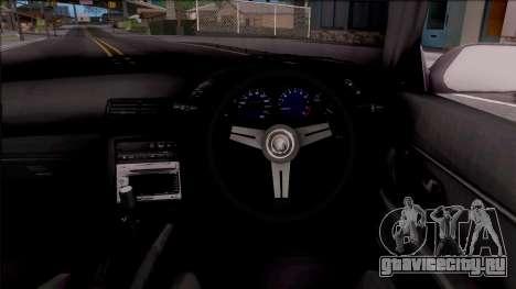 Nissan Skyline R32 Cabrio Drift Monster Energy для GTA San Andreas вид изнутри