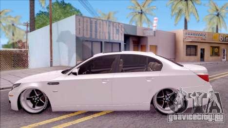 BMW M5 E60 SUDKİNG для GTA San Andreas вид слева
