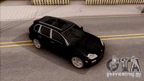 Porsche Cayenne Turbo S 2009 для GTA San Andreas вид справа