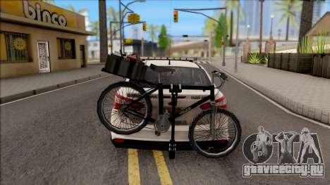Ford Focus 2013 Flint County Constable Office для GTA San Andreas вид сзади слева