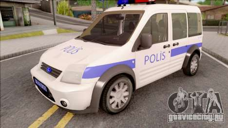 Ford Tourneo Connect 90PS Turkish Police для GTA San Andreas
