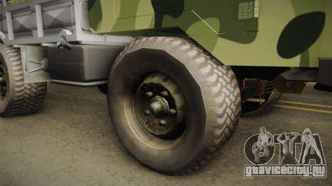 TAM 110 Vojno Vozilo для GTA San Andreas вид сзади