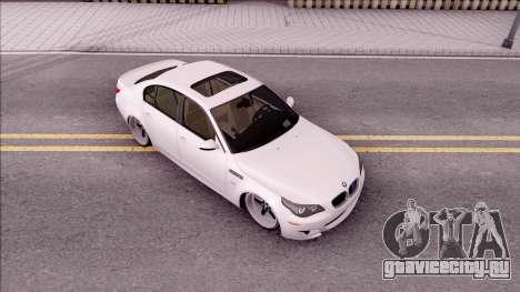 BMW M5 E60 SUDKİNG для GTA San Andreas вид справа