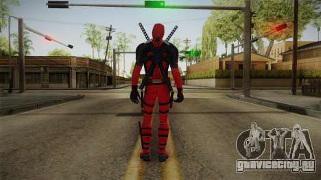 Deadpool The Movie Skin для GTA San Andreas