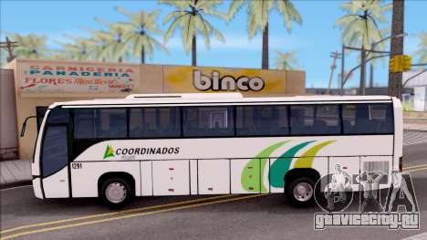 Volvo 9700 Coordinados Bus Mexico для GTA San Andreas вид слева