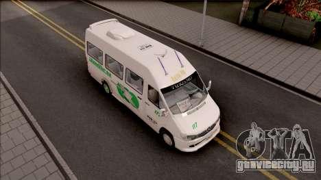 Mercedes-Benz Sprinter Renetur для GTA San Andreas вид справа