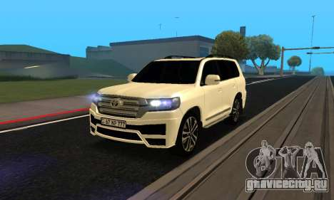 Toyota Land Cruiser 200 2017 Armenian для GTA San Andreas