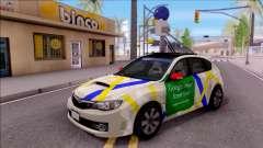 Subaru Impreza Google Street View Car для GTA San Andreas