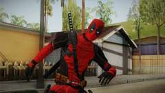Deadpool The Movie Skin для GTA San Andreas