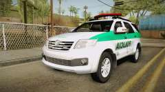 Toyota Fortuner Ponal Colombia для GTA San Andreas