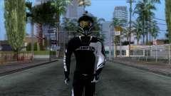 Motorcyclist Skin для GTA San Andreas
