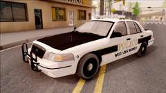 Ford Crown Victoria 2007 West Des Moines PD для GTA San Andreas