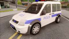 Ford Tourneo Connect 90PS Turkish Police