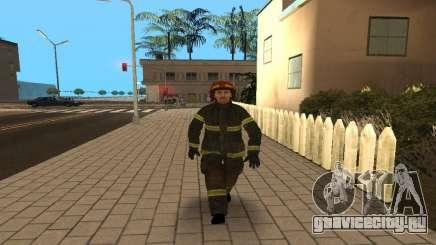 Сотрудник МЧС V.1 для GTA San Andreas