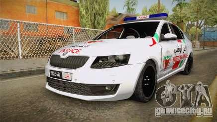 Skoda Octavia Moroccan Police для GTA San Andreas